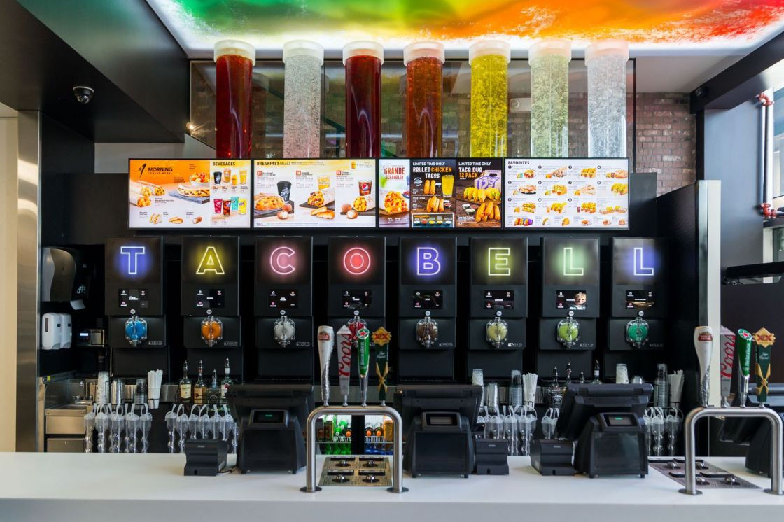Meet Las Vegas First Taco Bell Cantina Irockparties Irockparties