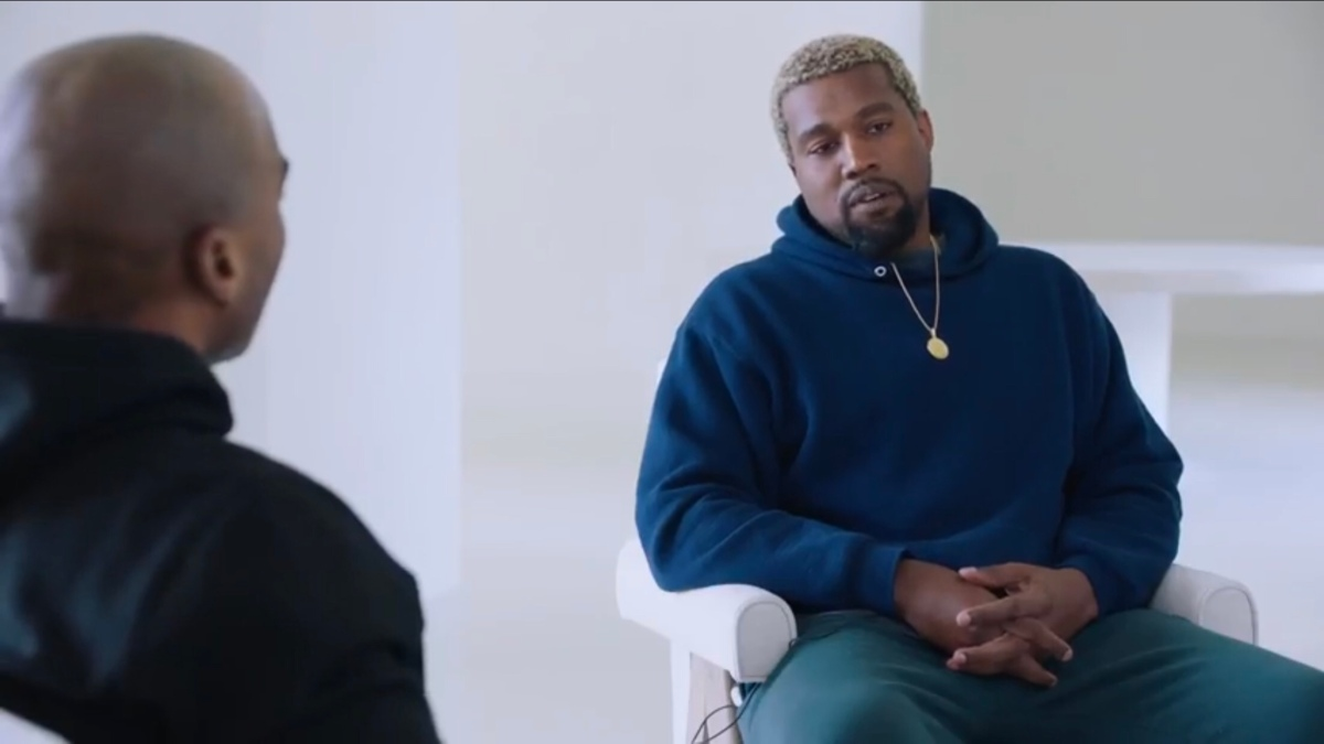 Kanye West X Charlemagne Interview |#iRockParties